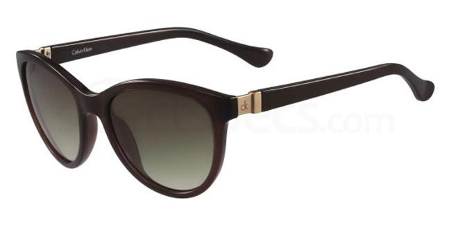 210 CK3189S Sunglasses, Calvin Klein Platinum