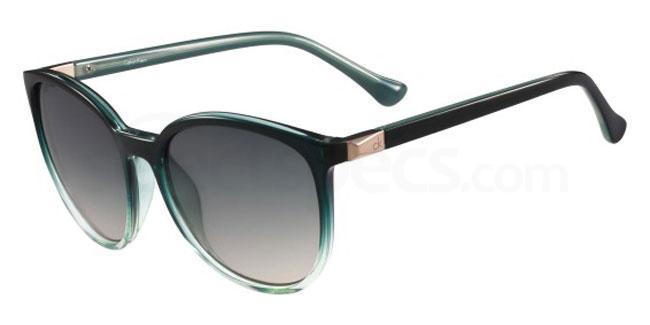 319 CK3191S Sunglasses, Calvin Klein Platinum