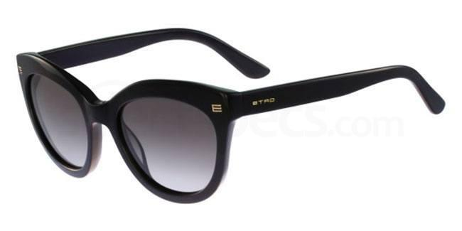 black cat eye Etro sunglasses