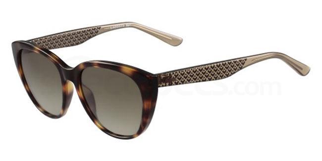 214 L832S Sunglasses, Lacoste