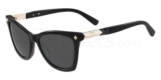 black cat eye sunglasses MCM