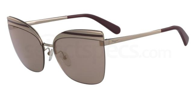 716 SF166S Sunglasses, Salvatore Ferragamo