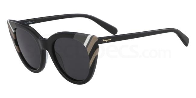 001 SF867S Sunglasses, Salvatore Ferragamo