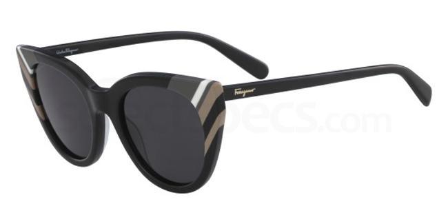001 SF867S Sunglasses, Salvatore Ferragamo