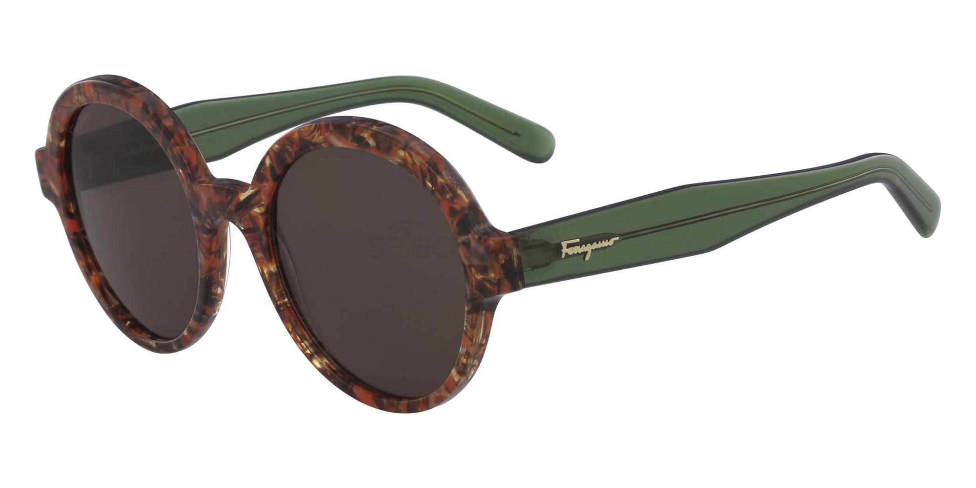 638 SF878S Sunglasses, Salvatore Ferragamo