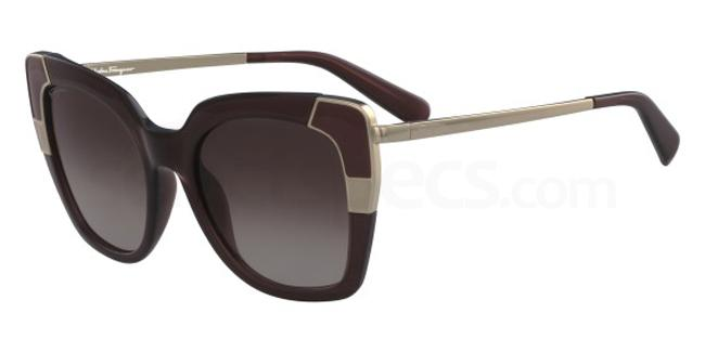 210 SF889S Sunglasses, Salvatore Ferragamo