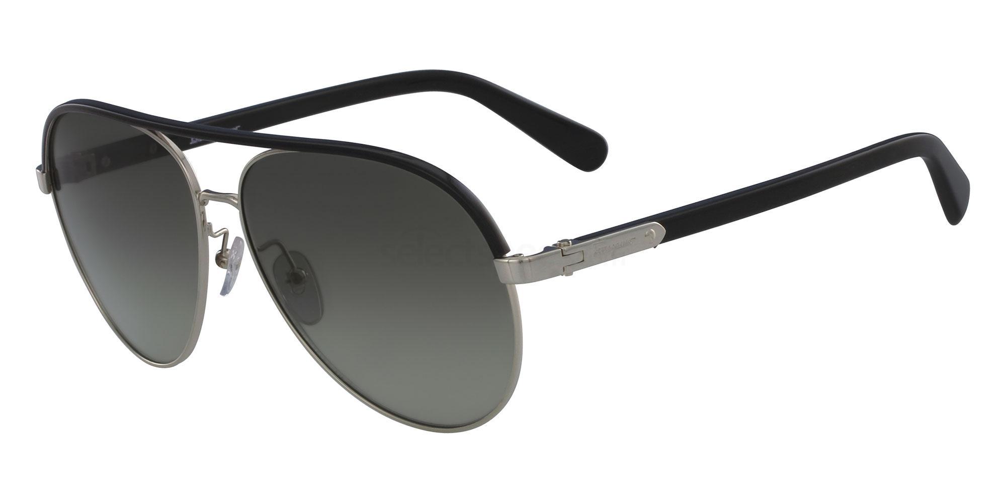 703 SF163S Sunglasses, Salvatore Ferragamo
