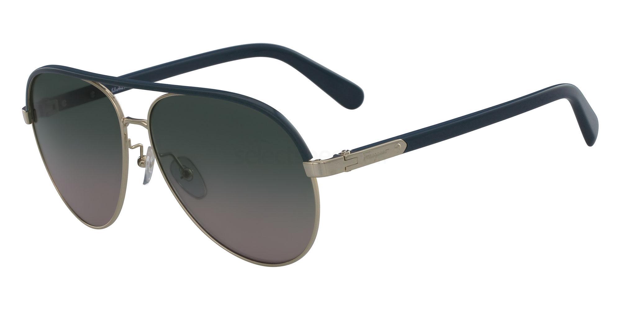 741 SF163S Sunglasses, Salvatore Ferragamo