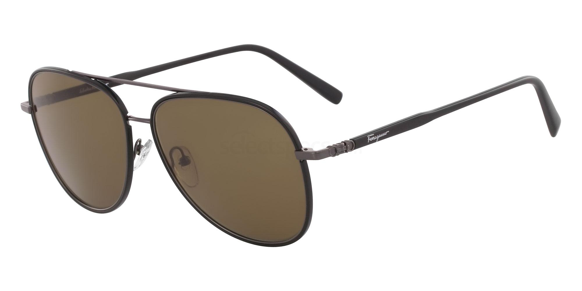 001 SF181S Sunglasses, Salvatore Ferragamo