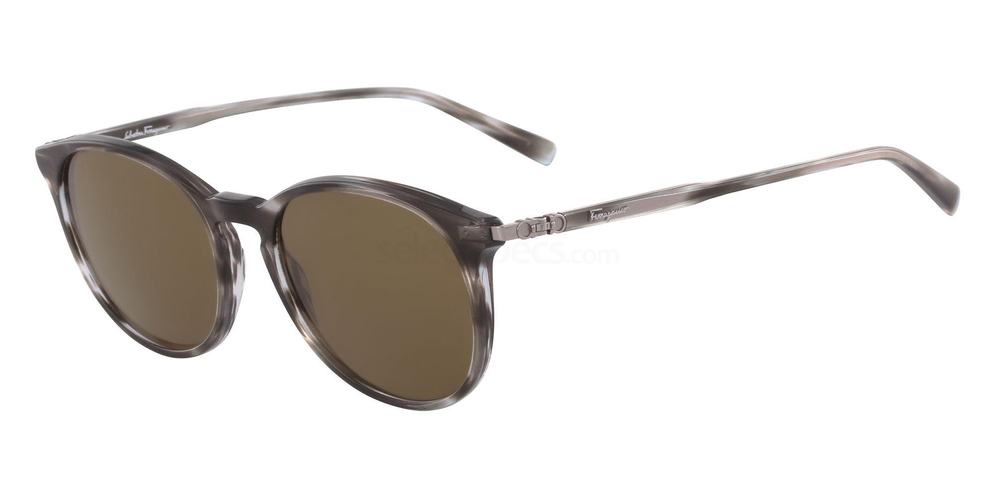 003 SF911S Sunglasses, Salvatore Ferragamo