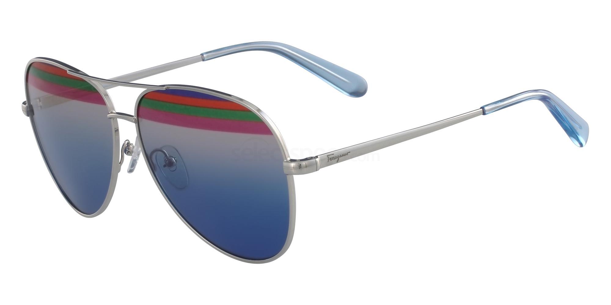 046 SF172S Sunglasses, Salvatore Ferragamo