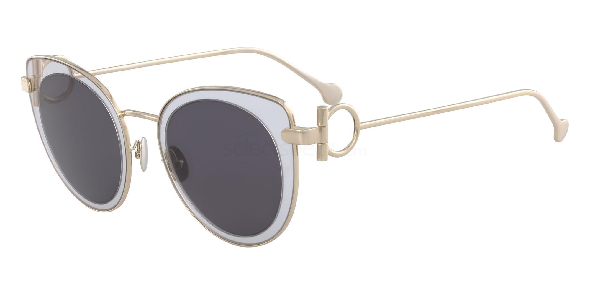 043 SF182S Sunglasses, Salvatore Ferragamo