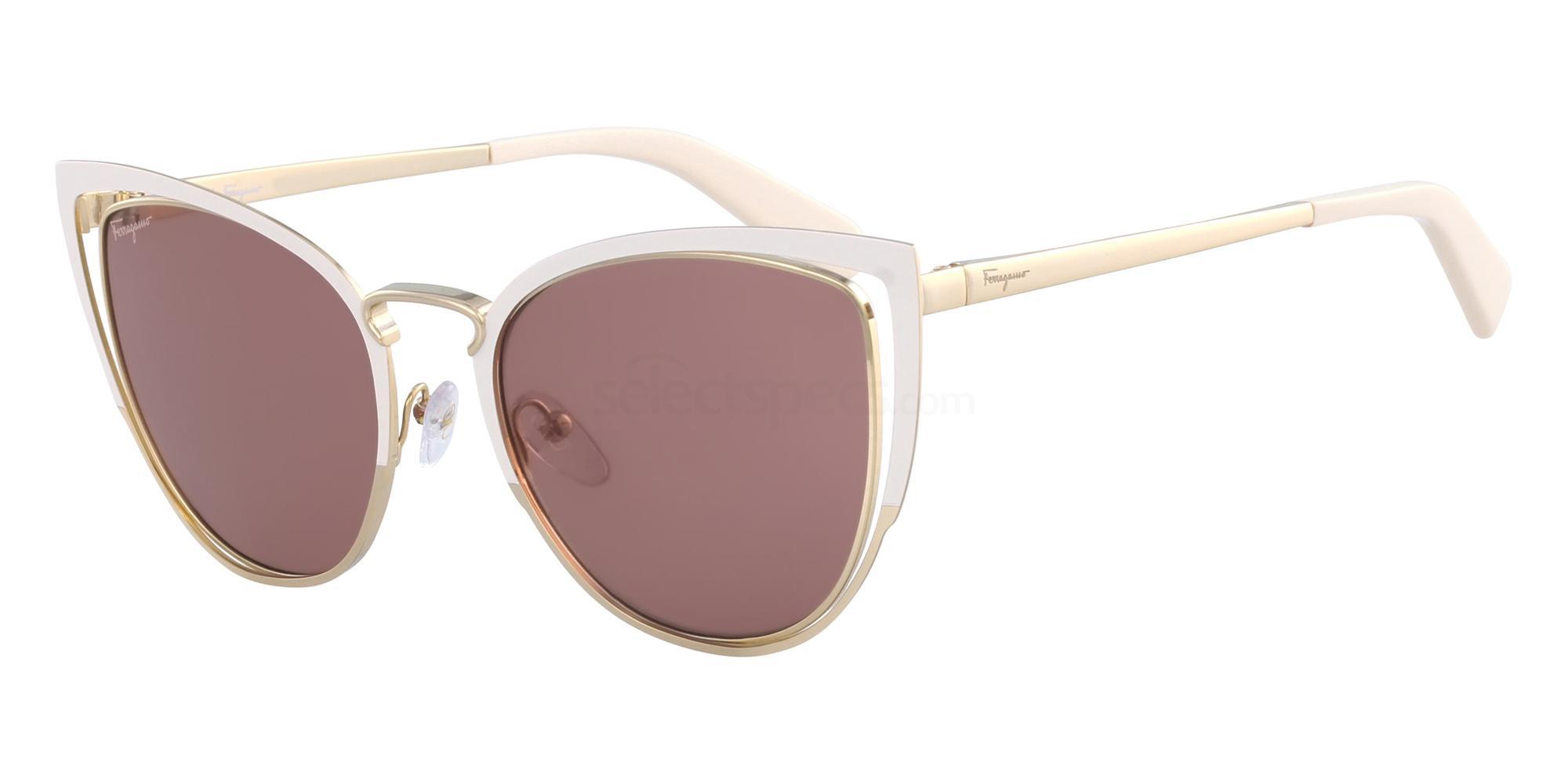 103 SF183S Sunglasses, Salvatore Ferragamo