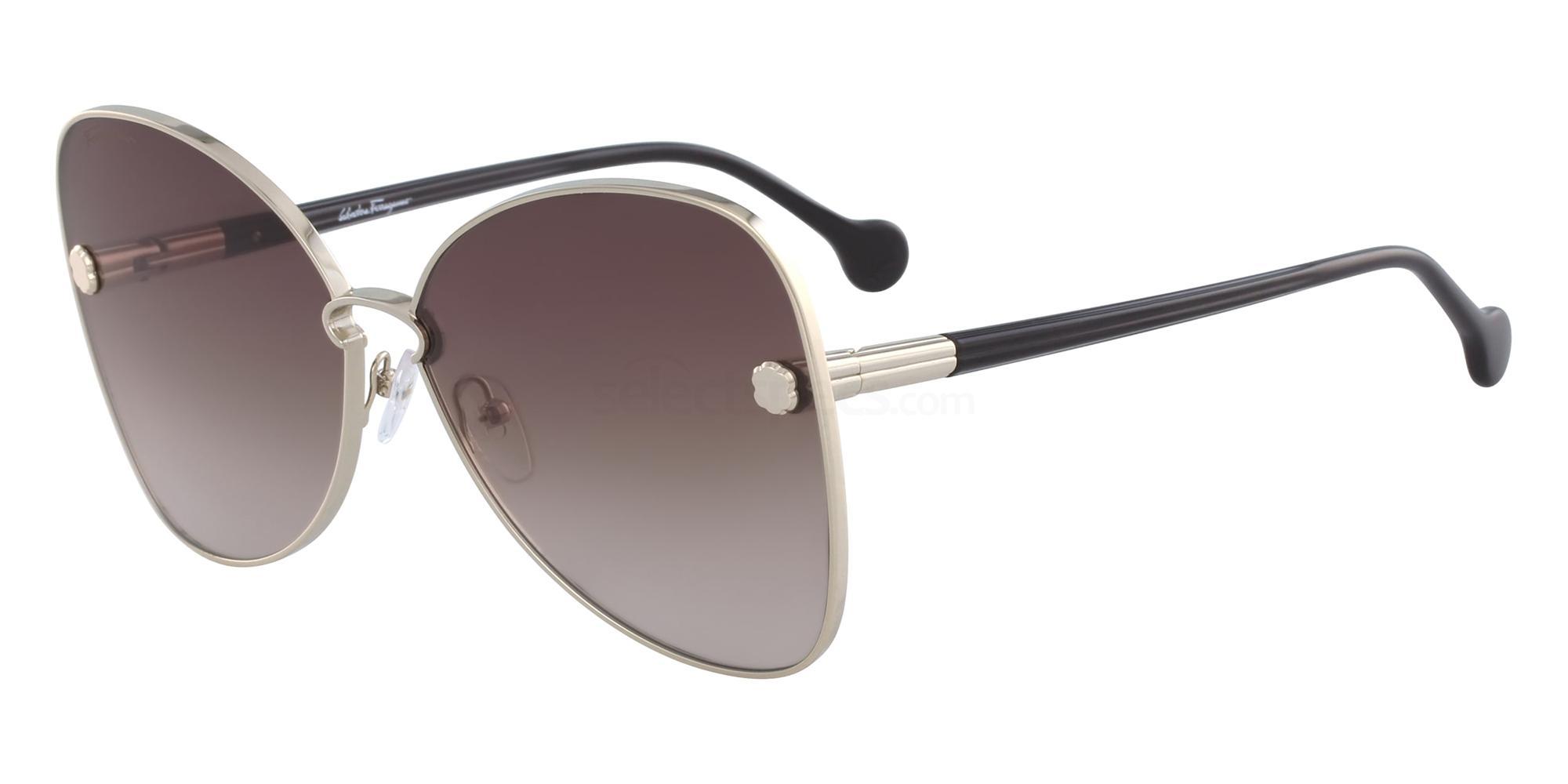 704 SF184S Sunglasses, Salvatore Ferragamo