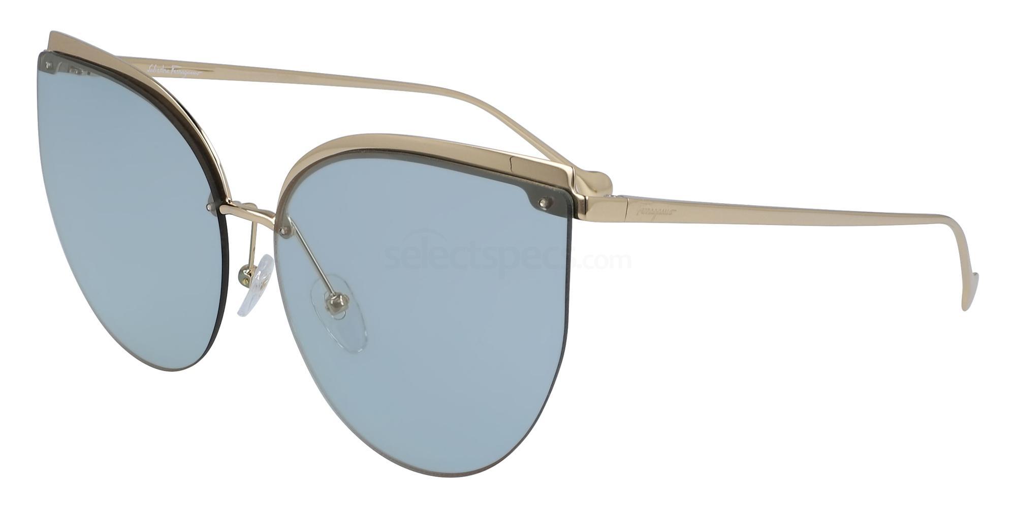 715 SF195S Sunglasses, Salvatore Ferragamo