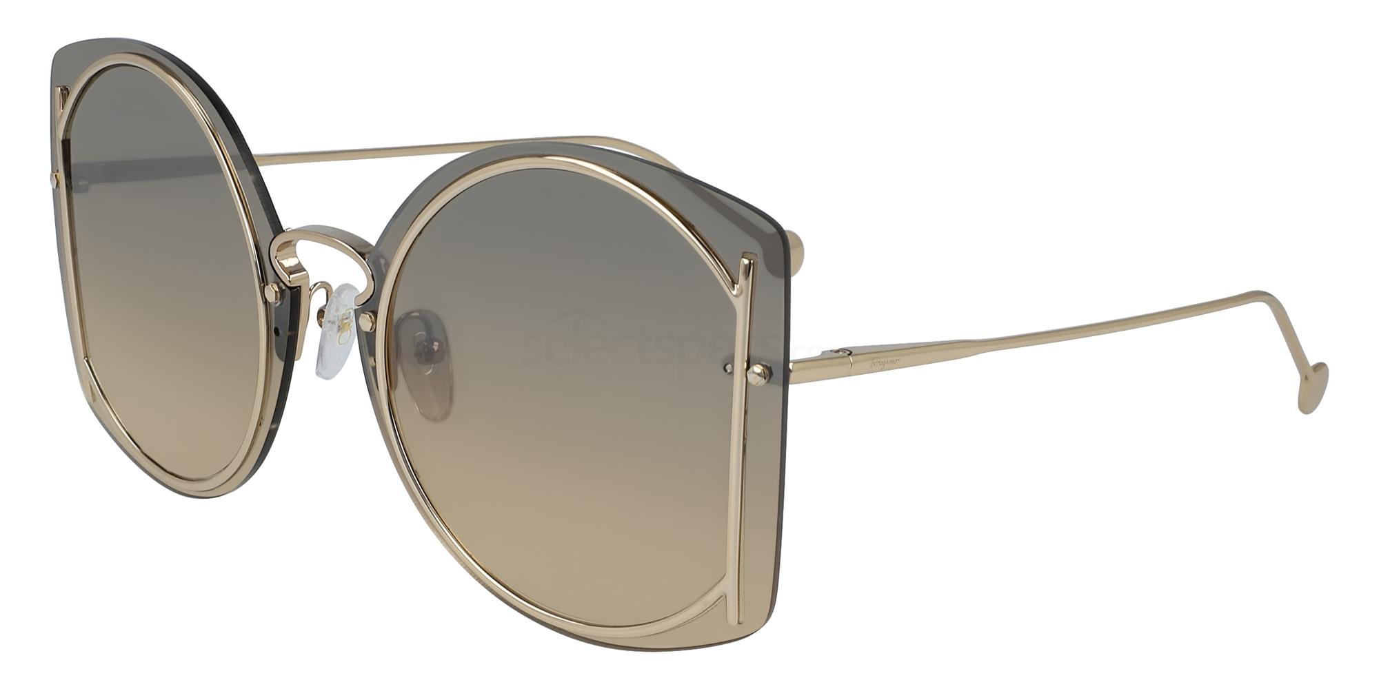 704 SF196S Sunglasses, Salvatore Ferragamo