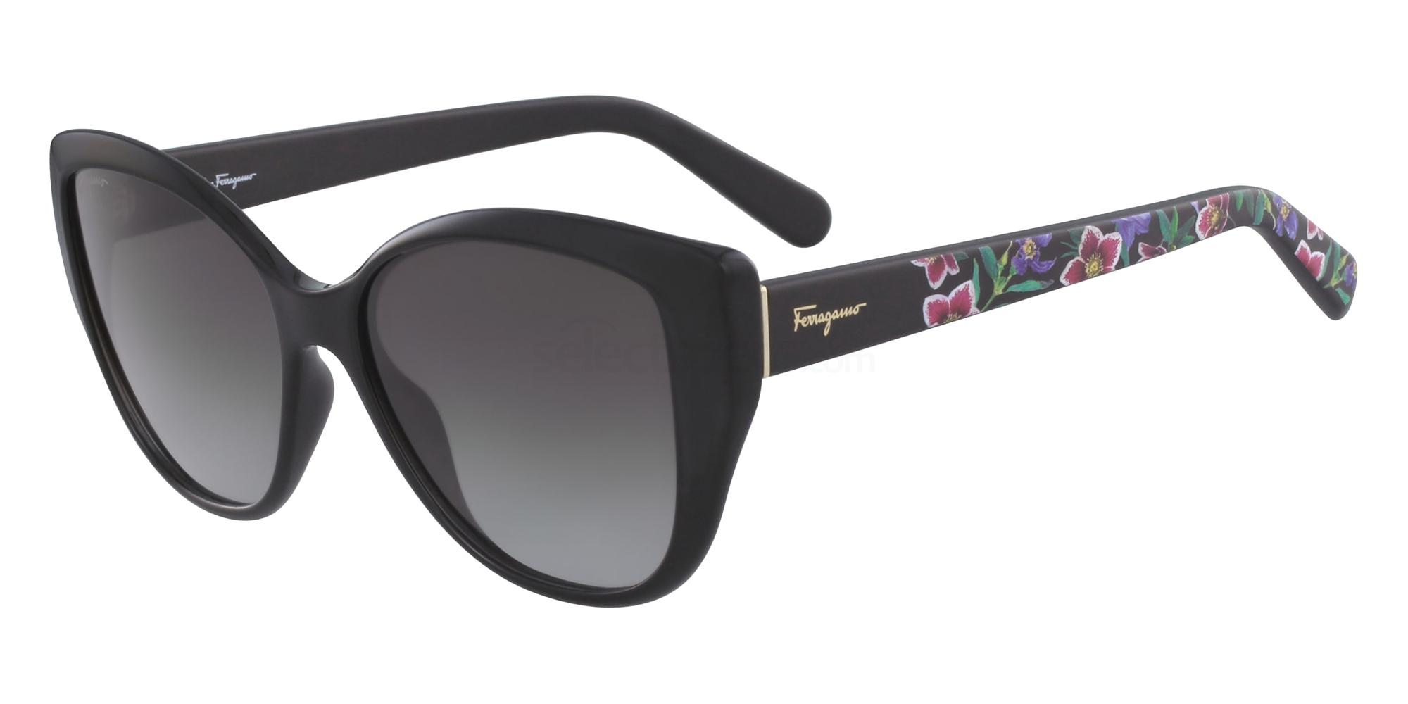 001 SF912S Sunglasses, Salvatore Ferragamo