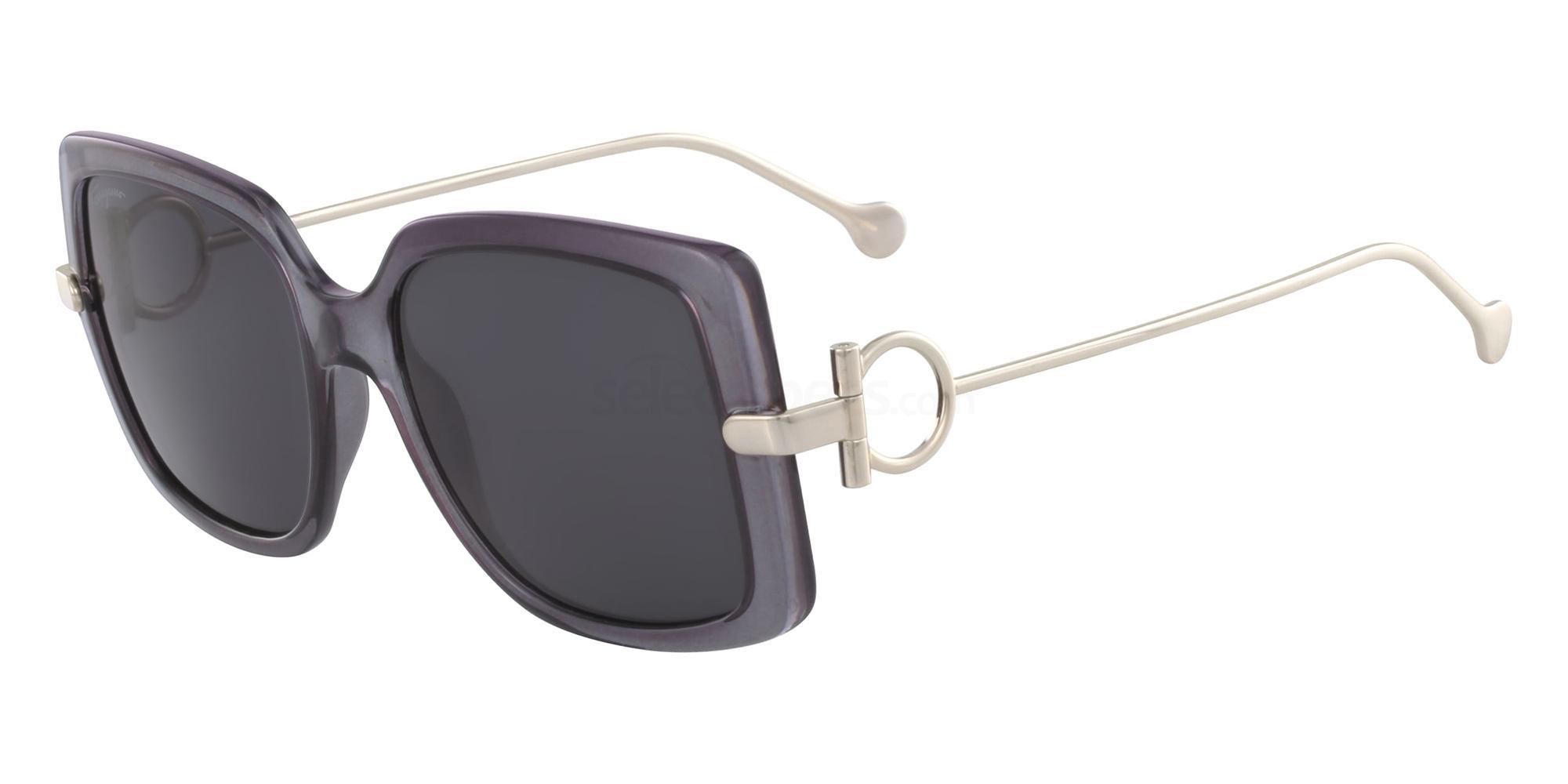 057 SF913S Sunglasses, Salvatore Ferragamo