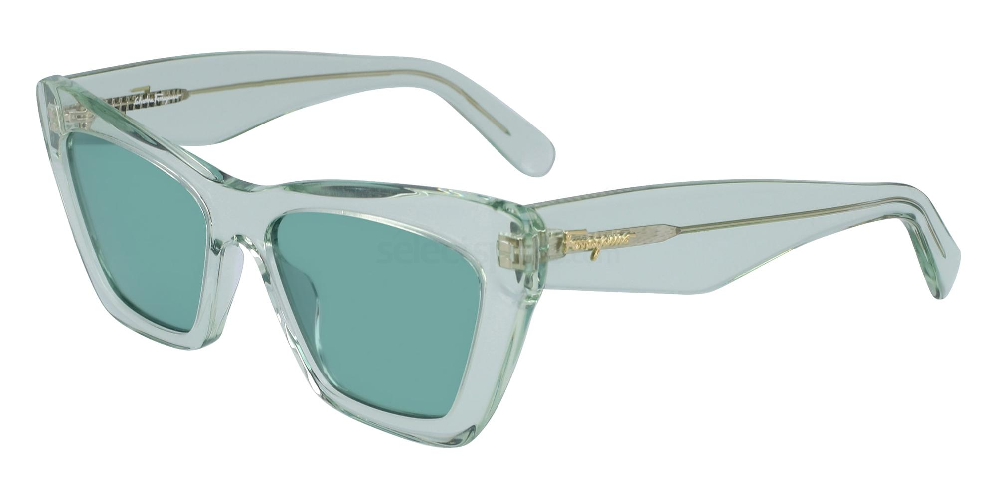 310 SF929S Sunglasses, Salvatore Ferragamo