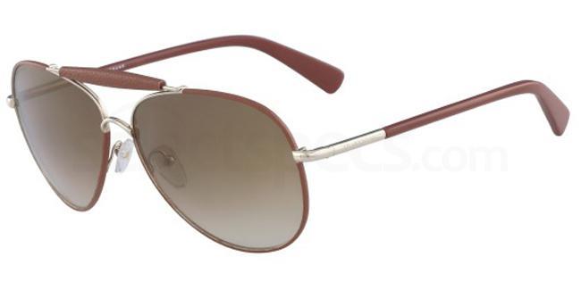 717 LO100SL Sunglasses, LONGCHAMP