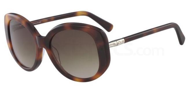 214 LO601S Sunglasses, LONGCHAMP