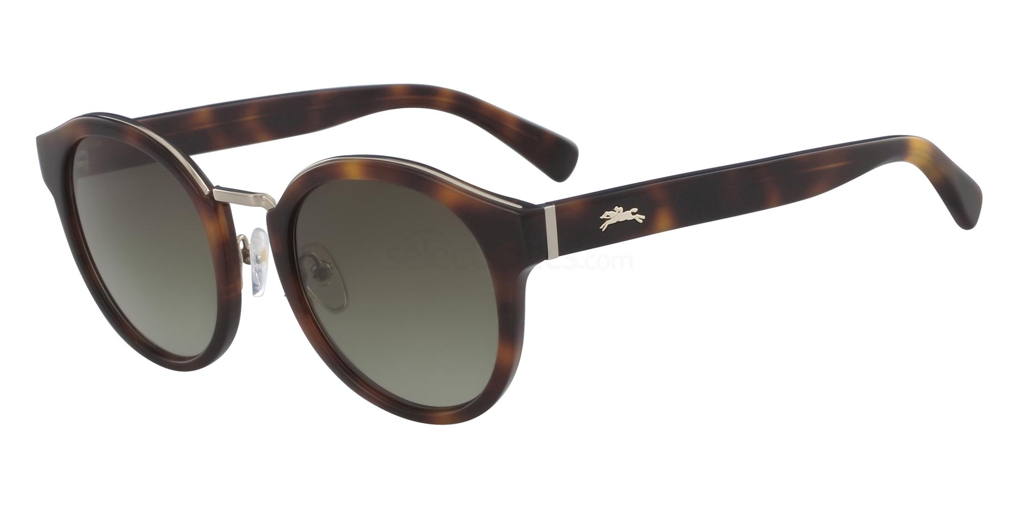 214 LO603S Sunglasses, LONGCHAMP