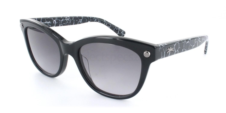 001 LO614S Sunglasses, LONGCHAMP