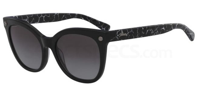 001 LO615S Sunglasses, LONGCHAMP