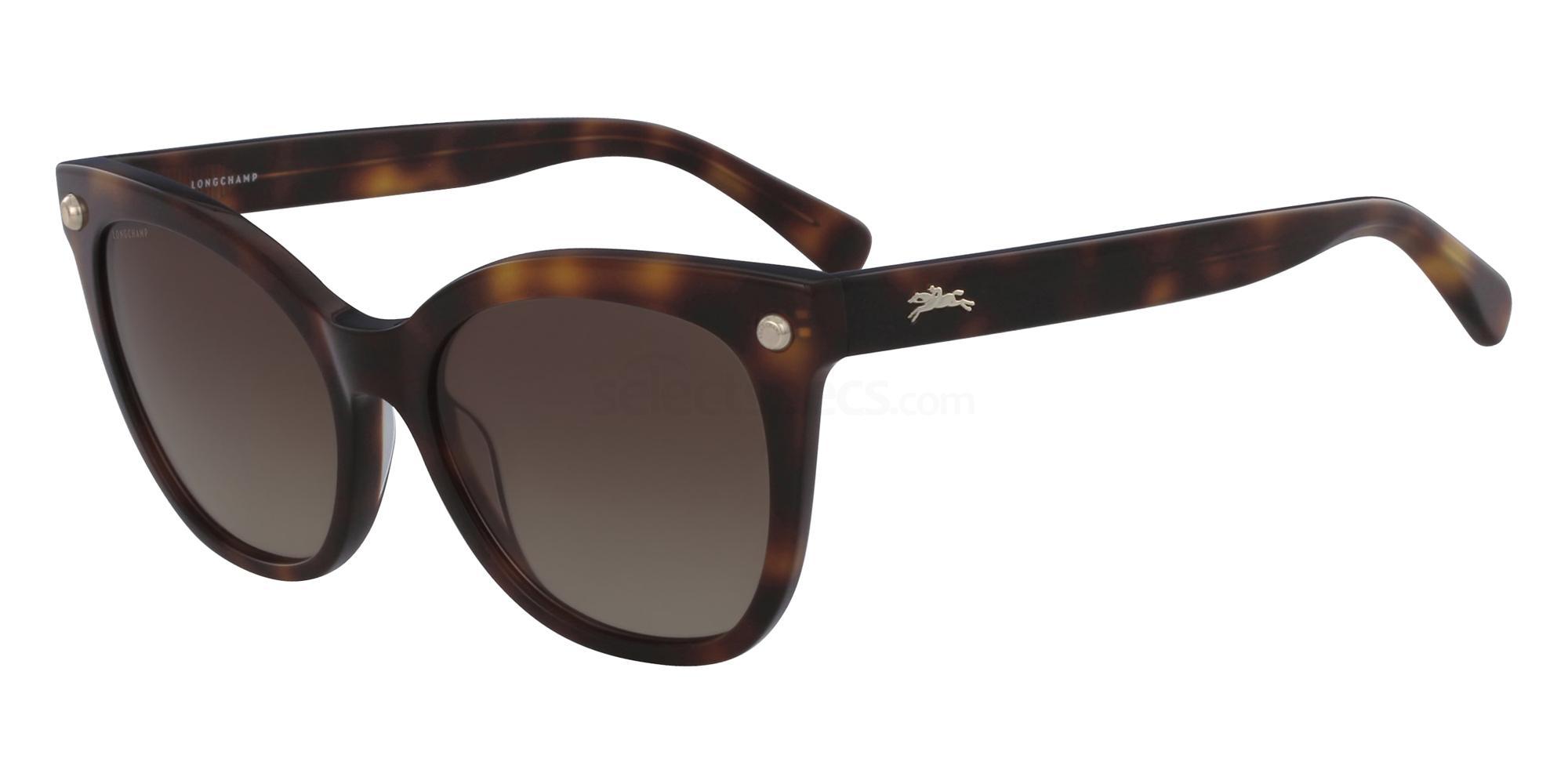 725 LO615S Sunglasses, LONGCHAMP