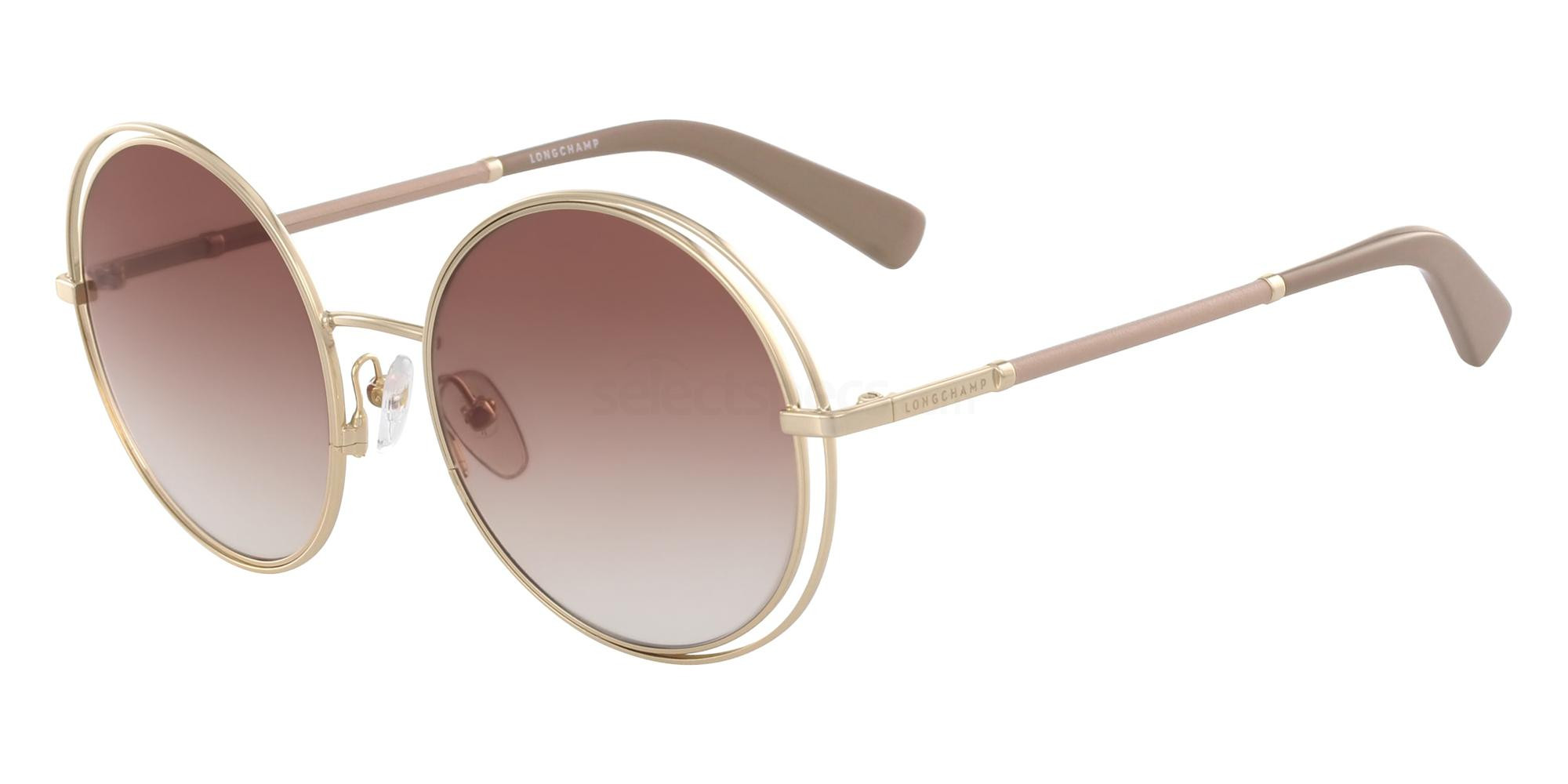 716 LO105SL Sunglasses, LONGCHAMP