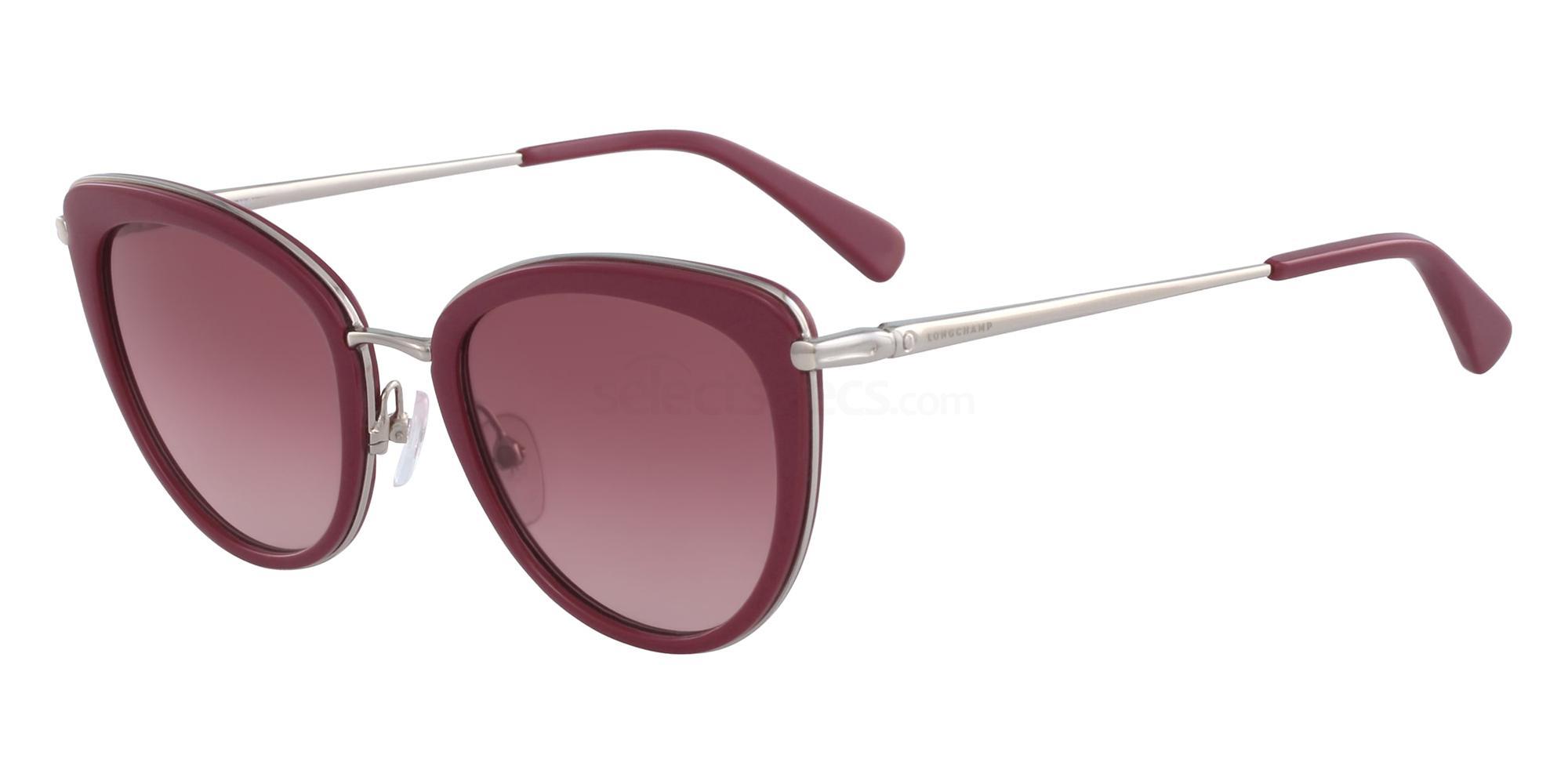 622 LO633S Sunglasses, LONGCHAMP