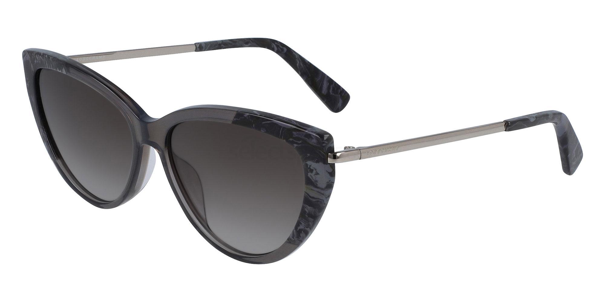 036 LO637S Sunglasses, LONGCHAMP