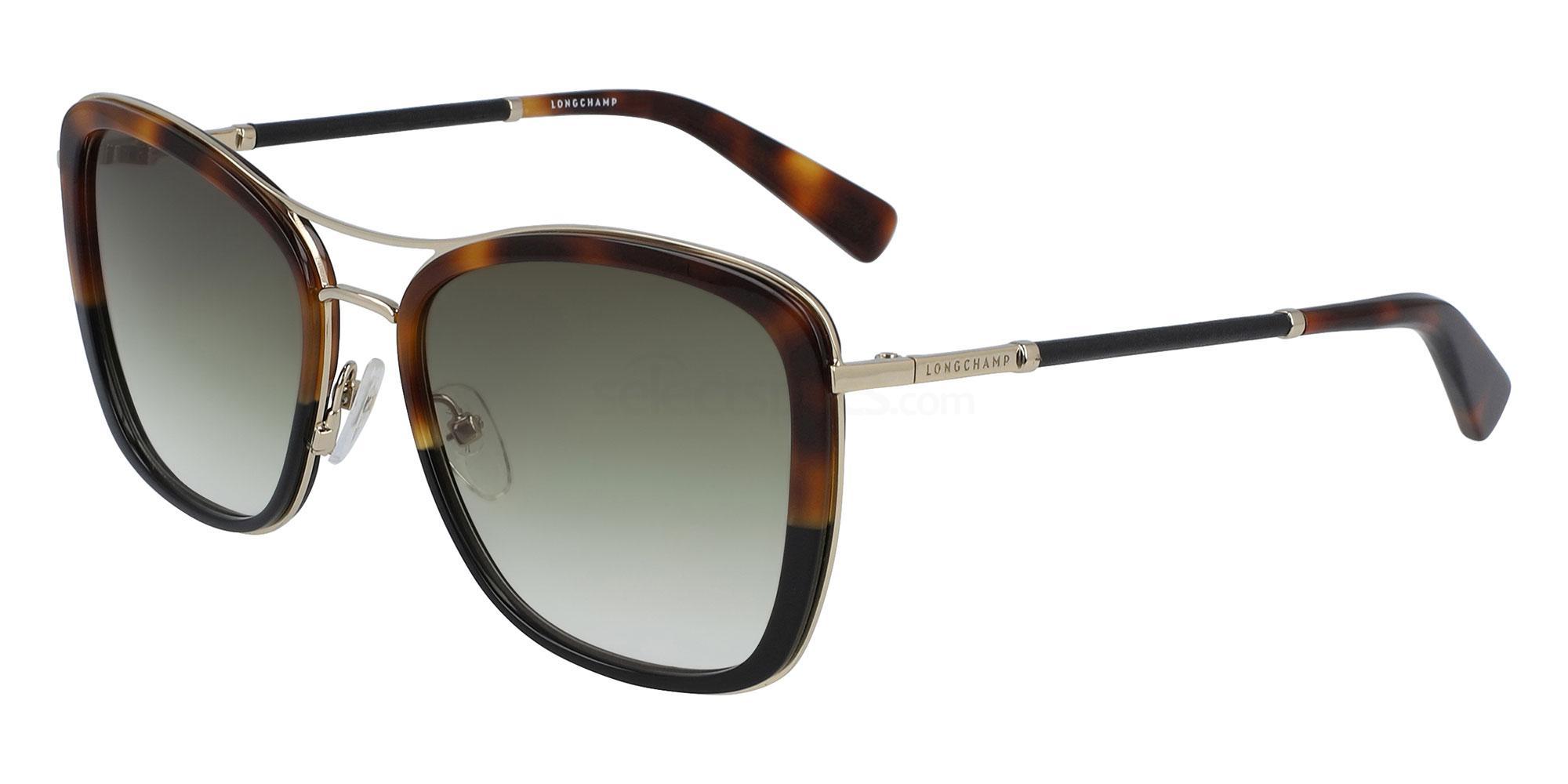212 LO639SL Sunglasses, LONGCHAMP