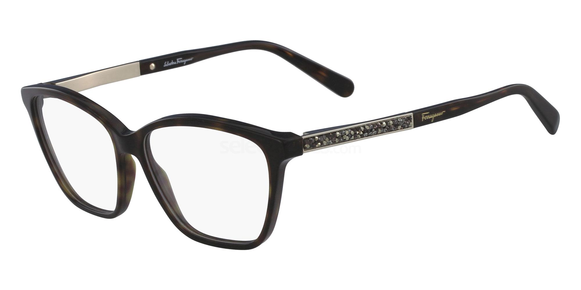 214 SF2804R Glasses, Salvatore Ferragamo