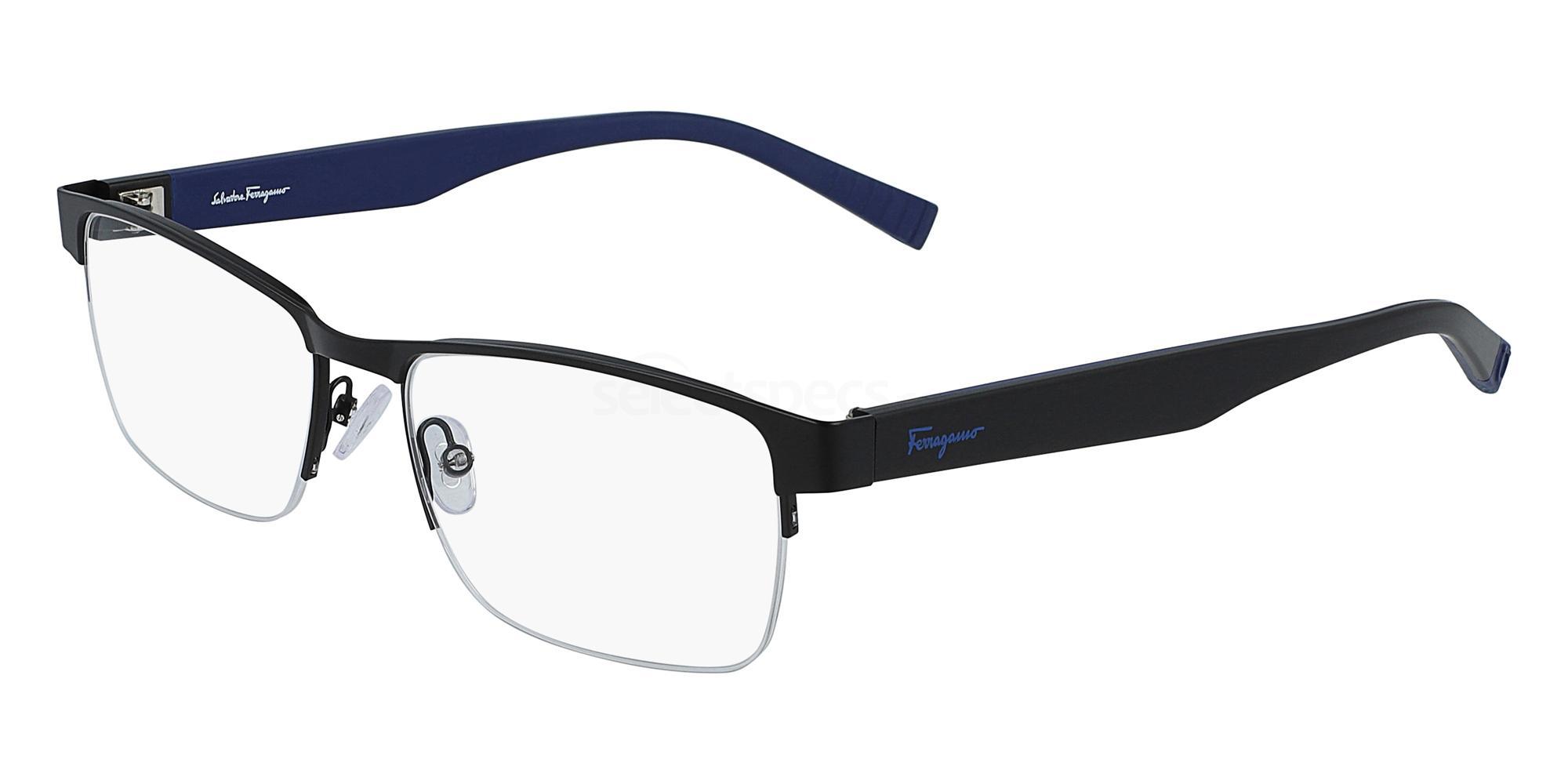 002 SF2186 Glasses, Salvatore Ferragamo