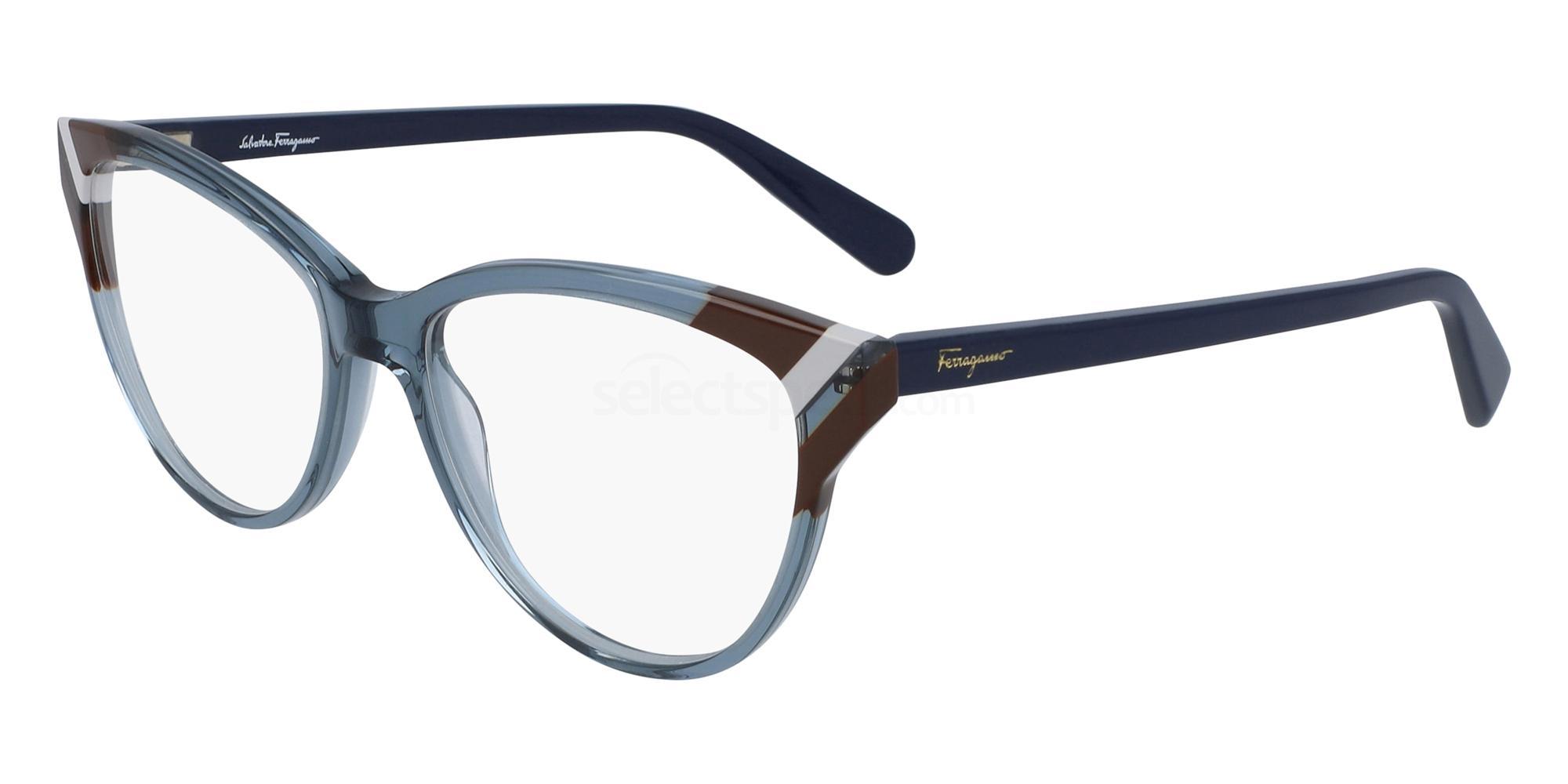 414 SF2844 Glasses, Salvatore Ferragamo