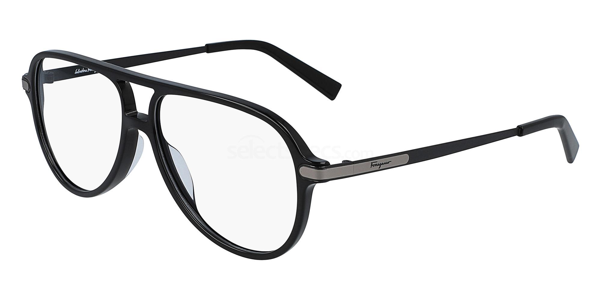 001 SF2855 Glasses, Salvatore Ferragamo