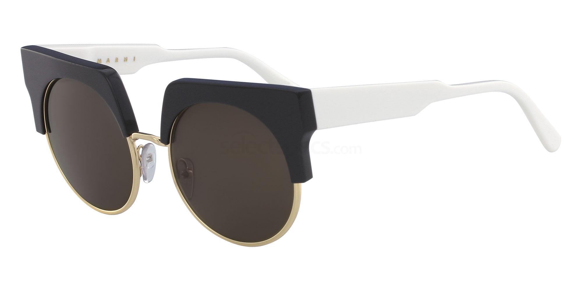 black white monochrome sunglasses marni