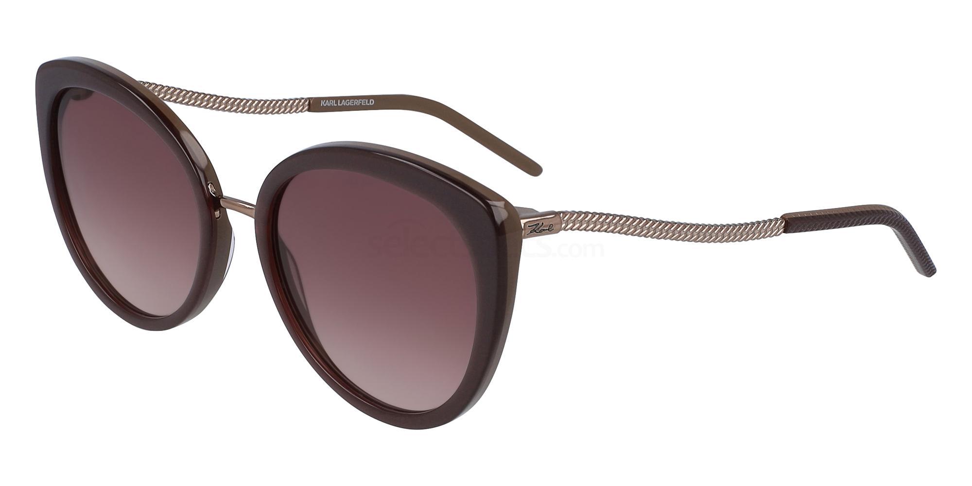 020 KL6008S Sunglasses, Karl Lagerfeld