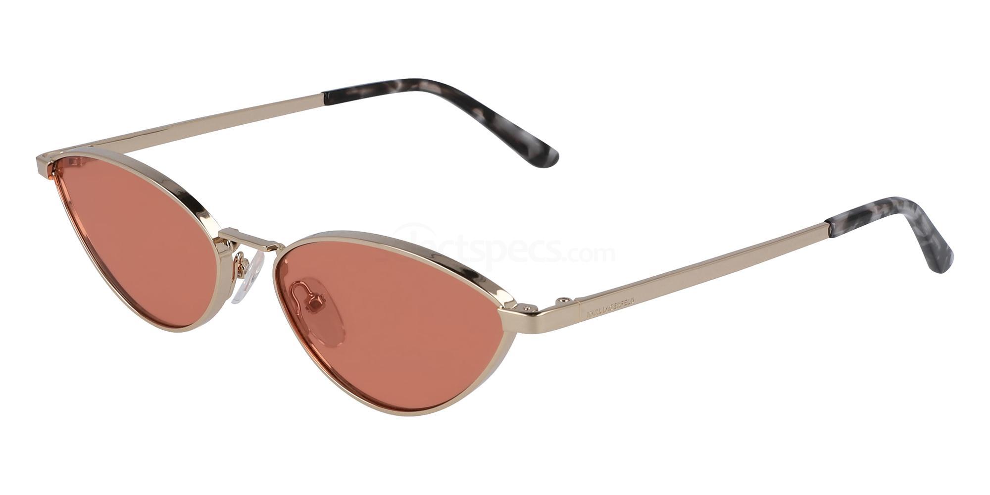 Karl Lagerfeld KL312S skinny sunglasses