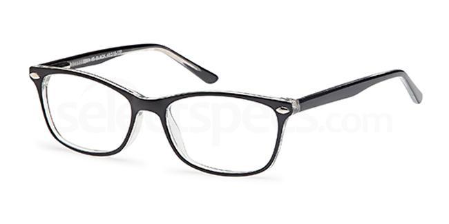 Black BMX65 Glasses, BMX KIDS