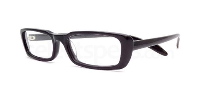 Black 823 Glasses, Booth & Bruce Design