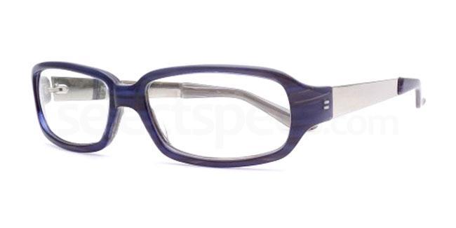 Blue Bottle 837 Glasses, Booth & Bruce Design