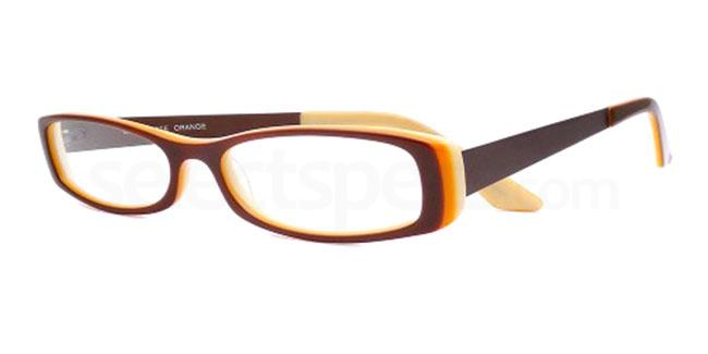 Chocolate Orange 841 Glasses, Booth & Bruce Design