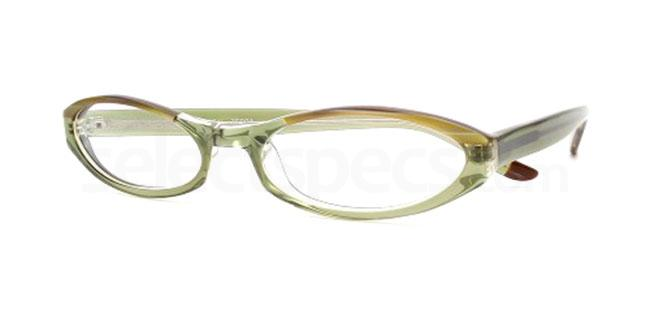 Crystal Zebra 842 Glasses, Booth & Bruce Design
