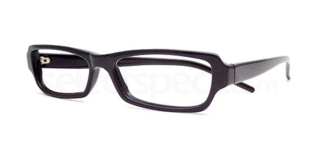 Black 844 Glasses, Booth & Bruce Design