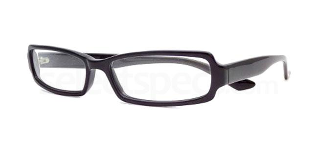 Black 845 Glasses, Booth & Bruce Design