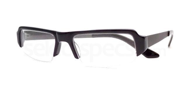 Black 847 Glasses, Booth & Bruce Design
