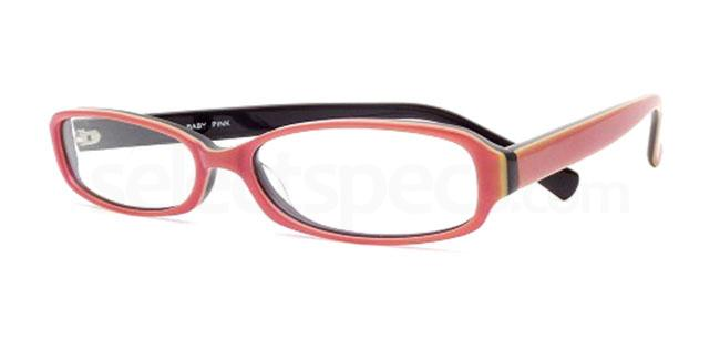 Baby Pink 858 Glasses, Booth & Bruce Design