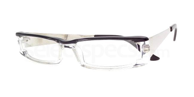 Black Crystal 861 Glasses, Booth & Bruce Design